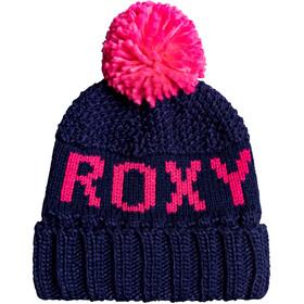 Roxy Tonic Berretto Donna, blu/rosa